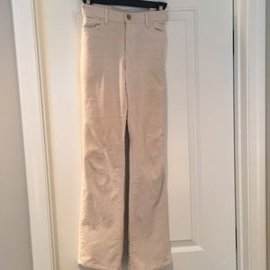 Loft corduroy Pants 6P - cream color